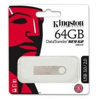 Kingston 64GB USB 3.0 Memory Pen, DataTraveler SE9 G2, Metal
